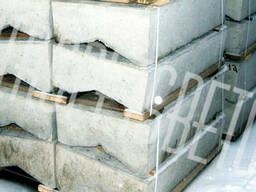 Блок лотка Б 1-24-100, дренаж дорожный, водоотводной системы
