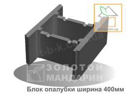 Блок бетонний незнімної опалубки 510*400*235