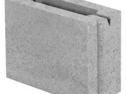 Блок бетонний перегородочний 200х90х188
