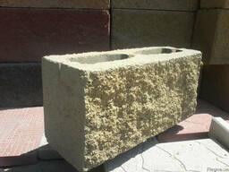 Блок декоративный (120мм/140мм), М-100:рваный, гладкий, цветной