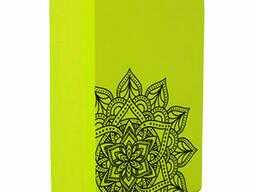 Блок для йоги MS 0858-5 (Зелёный)