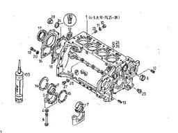 Блок двигуна Дойц BF4L913 0415 6279, 0415 0513