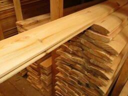 Блок хаус 35х135 мм. деревянный сайдинг Сосна