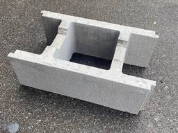 Блок несъемной опалубки 190х390х500