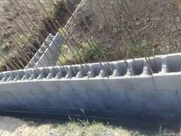 Блок несъемной опалубки бетонные 250 мм