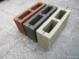 Блок перегородочный (заборный) из известняка (ракушечника)