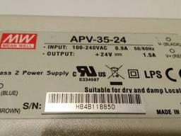 Блок питания 24 вольт APV-35-24 сетевой адаптер зарядное уст