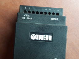 Блок питания 24В/30Вт/DIN рейка (БП30Б-Д3-24) Овен