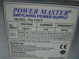 Блок питания Power Master PM-350CF