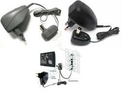 Блок питания телевизионной антенны ТВ адаптер 12V сетевой