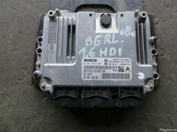Блок управления двигателем 0281013871 Citroen Berlingo 1.6