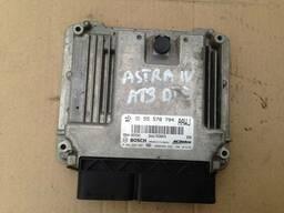Блок управления двигателем A13DTE Opel Astra J Meriva. ..