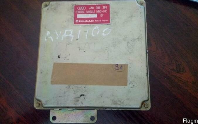 Блок управления двигателем Audi 100 C4 2.8i номер 4A0906266