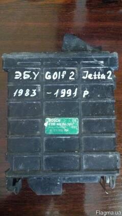 Блок управления двигателем Golf 2 номер 0280800104