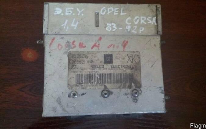 Блок управления двигателем Opel Corsa A номер 16139619
