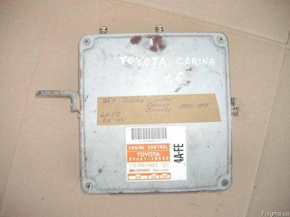 Блок управления двигателем Toyota Carina 4A-FE 1.6 (1992-1