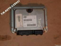 Блок управления двигателя Fiat 500L 12-14 б/у 5524564