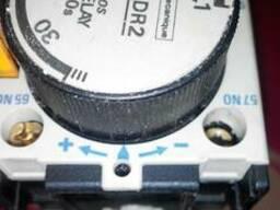 Блок задержки для магнитного пускателя LA3-DR2 (0,1-30s)