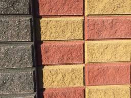 Блоки бетонні декоративні для забора. Купити Київ та обл. Доставка