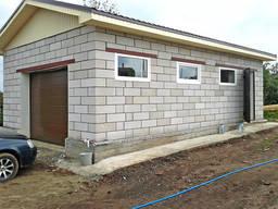 Блоки для будівництва гаража.