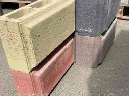 Блоки для столбов забора с фаской