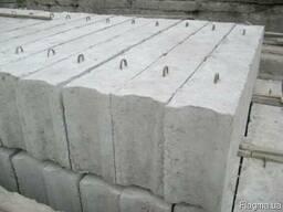 Блоки бетонные цена: