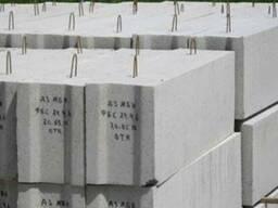Блоки фундаментные ФБС 12-3-6 1180х300х580мм