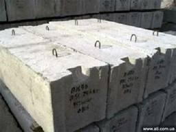 Блоки фундаментные фбс в Одессе и области ЖБИ