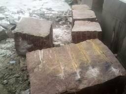 Блоки гранитные Новоданиловского месторождения