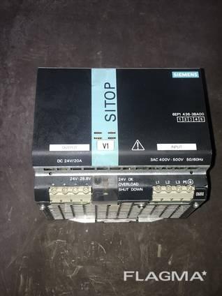 Блоки питания Siemens SITOP POWER 24В 20А