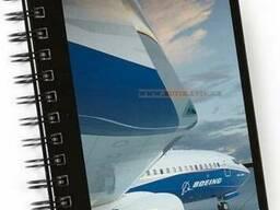 Блокнот Boeing 737 Image Spiral Notebook
