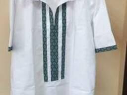 Блуза вышитая, ткань и цвет на выбор, под заказ.