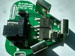 BMS 3S 20А 12.6V плата защиты Li-Ion аккумулятора шуруповерт