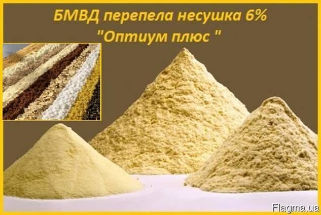 Бмвд «оптиум плюс» 6% для перепелов несушек.