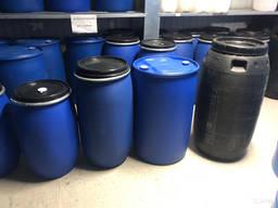 Бочка 50 литров пластиковая с крышкой на обруч купить