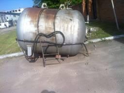 Бочка аммиачная газгольдер емкость АША-2 на 3,5 и 4 мк