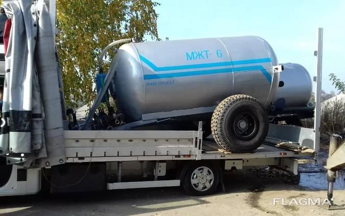 Бочка МЖТ-6 для внесения жидкого навоза и жидких удобрений