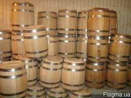 Бочки дубовые новые для алкоголя, кадки
