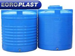 Емкость пластиковая вертикальная для воды 1000л