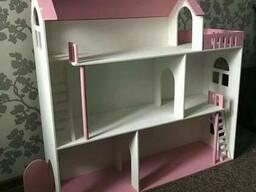 Большой домик для кукол Барби. Шикарный подарок!