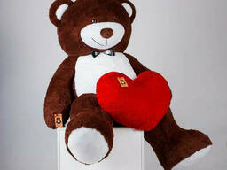 Большой плюшевый мишка с сердцем Yarokuz Ричард 200 см. ..
