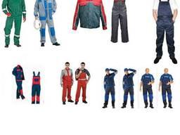Спецодежда для работников СТО, АЗС, автосалонов, строителей