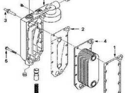 Прокладка крышки маслоохладителя C3929011 двигатель. ..
