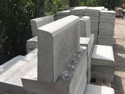 Бордюр поребрик бетонный вибролитой 500х200х65