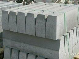 Бордюры бетонные БР 1000. 30. 18 1000x180x300