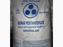 Борная кислота Перу, Турция