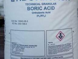 Борная кислота (Турция, Боливия) мешок 25кг, биг-бег 1т