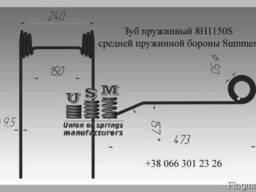 Борона пружинная, комплектация - фото 2