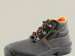 Рабочие ботинки, кожа