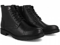 Ботинки демисезонные Forester Officer 750-27 черные